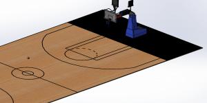 SOLIDWORKS Motion Basketball shot