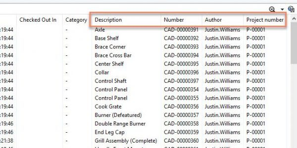 SOLIDWORKS PDM Custom Columns in Windows Explorer
