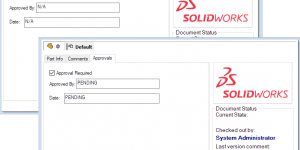 Input Formula in SOLIDWORKS PDM Data Card