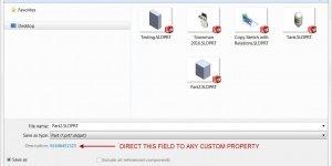 Description Custom Property