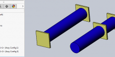 Different Assembly Configurations in a Higher-Level Assembly
