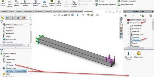 Drag fixture and load to design library
