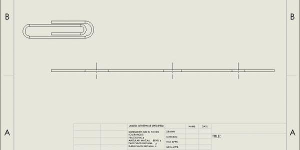 tube flat pattern