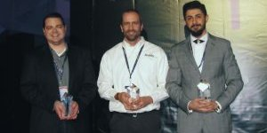 (Left to Right) Andrew Lidstone, Scott Durksen, Siavash Khajehhasani