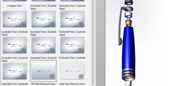 importing exploded views