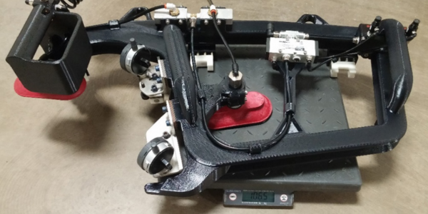 Ford Mustang 3D printed alignment fixture