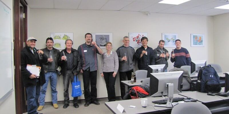 Last Training Class at 700 Dorval - SolidWorks Routing