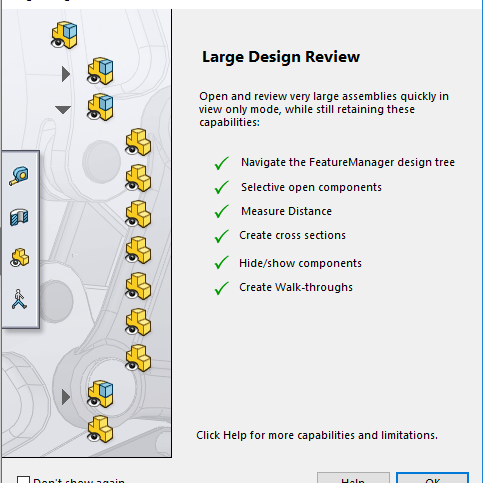 SOLIDWORKS Large Design Review