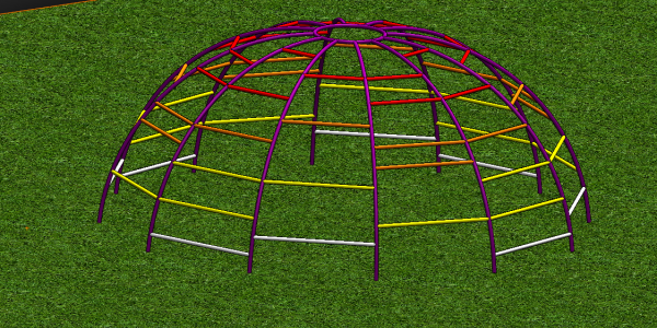 SOLIDWORKS Monkey Bars