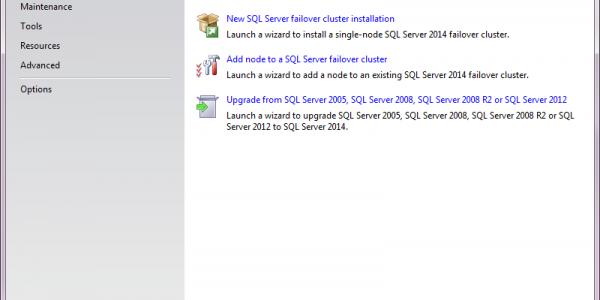 Installing Microsoft SQL Server