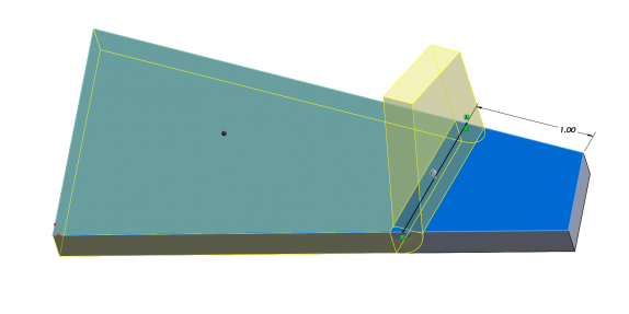 SOLIDWORKS Zero Radius Not Complex - Complex Bend