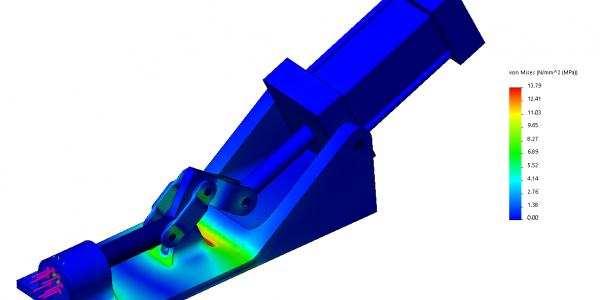 SOLIDWORKS Simulation Assembly Study
