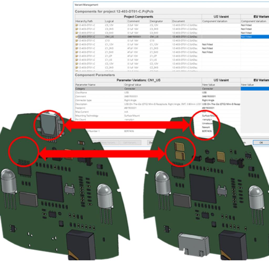 SOLIDWORKS PCB 2018 3D Integration Enhancements