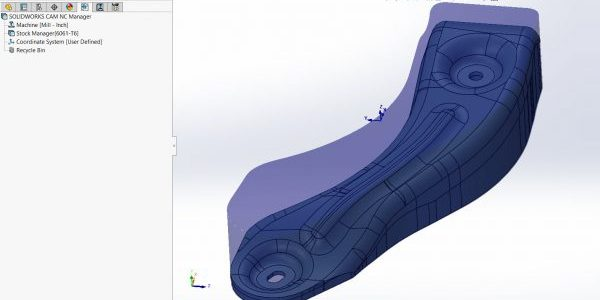 SOLIDWORKS CAM Multi-surface Features