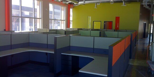 Teknion Leverage Workstations installed at new Javelin office