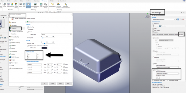 SOLIDWORKS Composer 360 Degree Capture