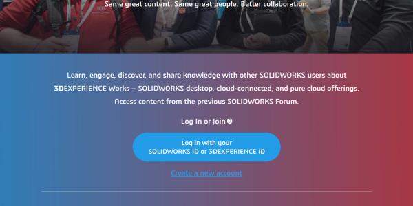 SOLIDWORKS User Forum