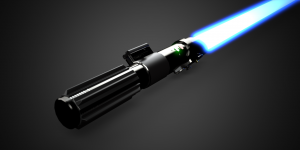 Solidworks visualize lightsabre2
