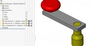 SOLIDWORKS Assembly Appearance Overrides