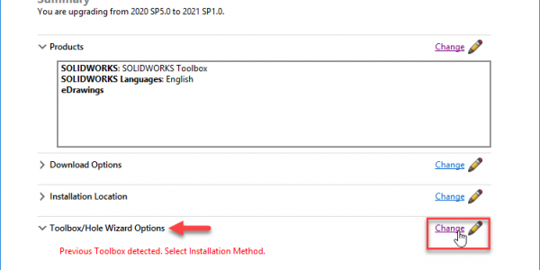 Toolbox Upgrade IM - Change