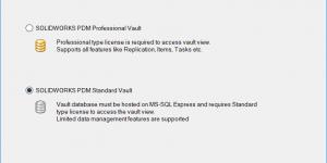 SOLIDWORKS PDM Standard Vault