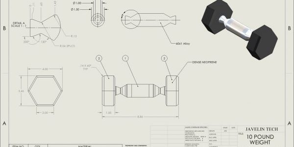 SOLIDWORKS Drawing Weight Accuracy