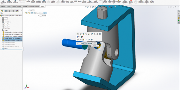 SOLIDWORKS Mates Shortcuts
