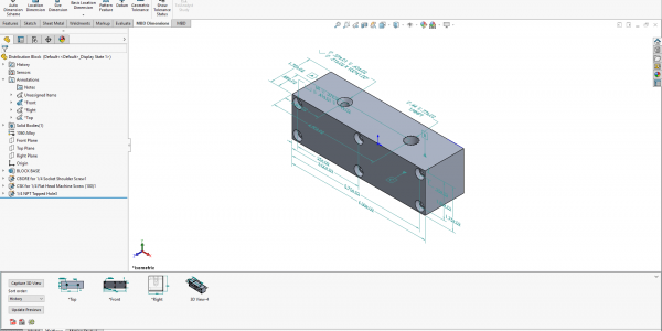 SOLIDWORKS MBD Annotation Folder