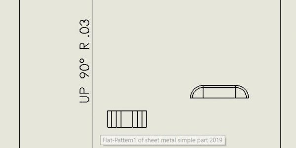 SOLIDWORKS Sheet Metal Formed Feature