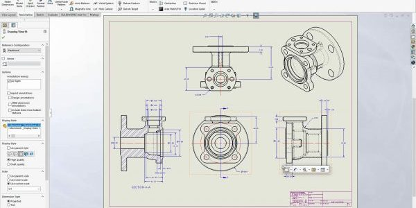 Create SOLIDWORKS drawings macro