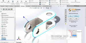 DFMXpress in SOLIDWORKS