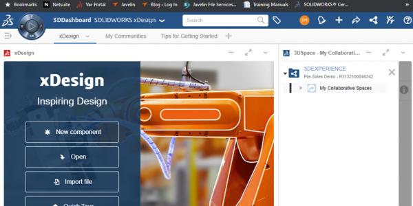 3DEXPERIENCE Platform Dashboard