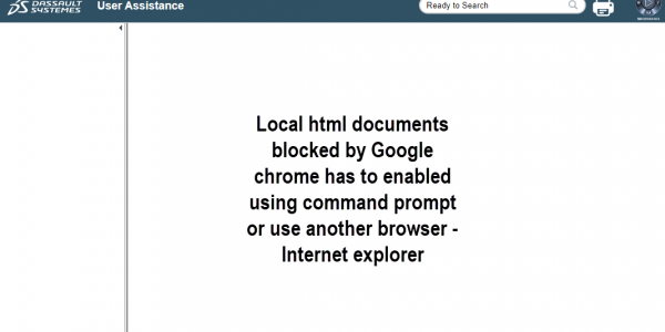 HTML document blocked by google chrome