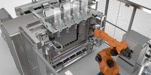 The Stratasys Infinite-Build 3D Demonstrator for producing large tools and production parts