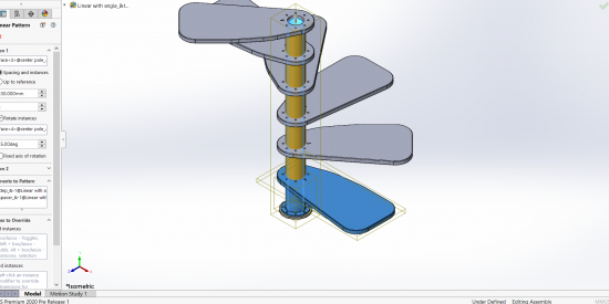 SOLIDWORKS Large Design Review Pattern