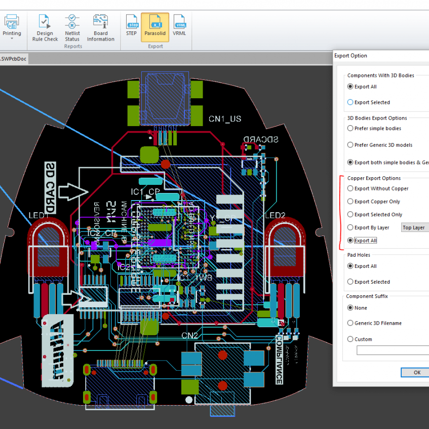 SOLIDWORKS PCB 2017 is a unified environment for schematic & layout