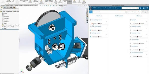 Project Planner in SOLIDWORKS Desktop