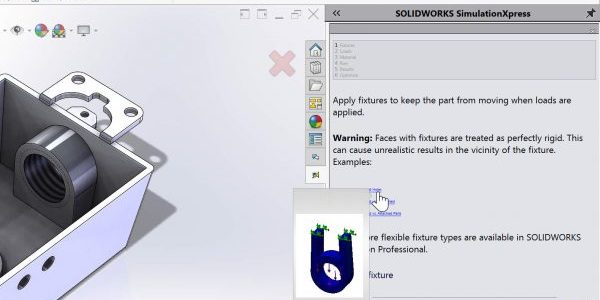 SOLIDWORKS Simulation Advisor