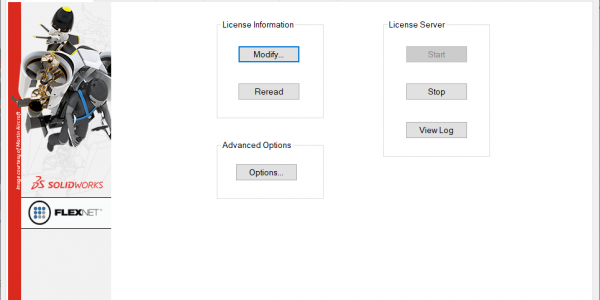 SolidNetWork License Server Administration