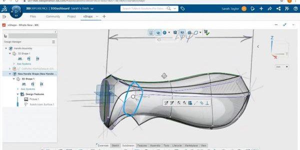 SOLIDWORKS 3D Sculptor xShape App
