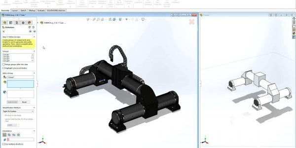 SOLIDWORKS Assembly Defeature