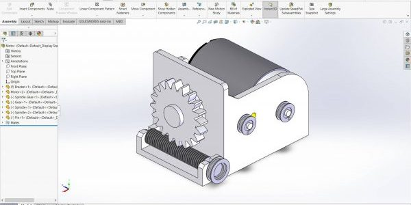 SOLIDWORKS Assembly to Scale