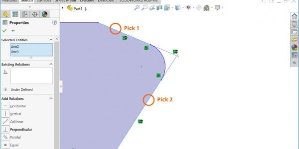 SOLIDWORKS Virtual Sharp Picks