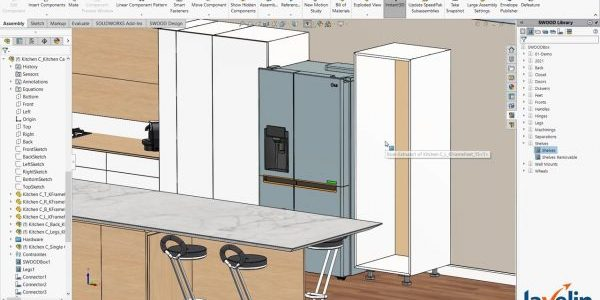 SOLIDWORKS Woodworking Add-in