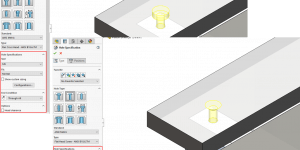 SOLIDWORKS 2018 Hole Wizard Update