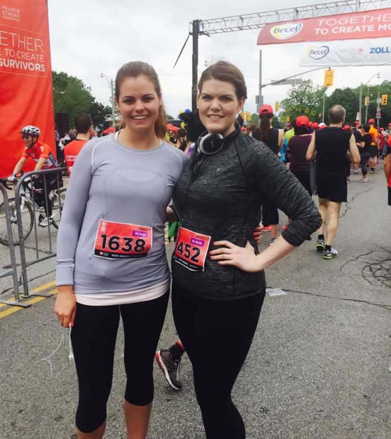 Lauren and Kelly Sponsored Run