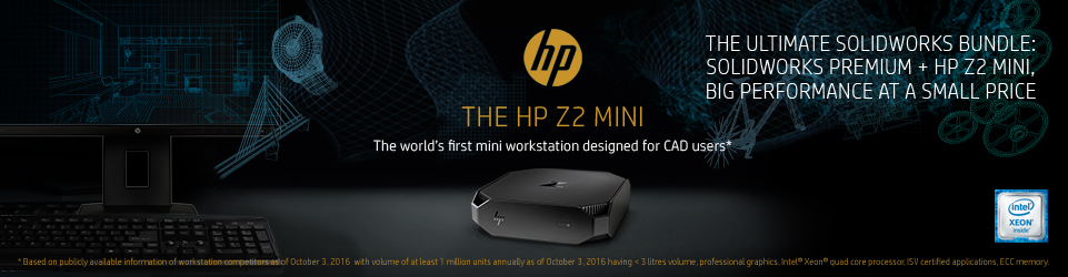 THE HP Z2 MINI: The world's first mini workstation designed for CAD users